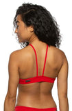 Isela Fixed Back Top - Red
