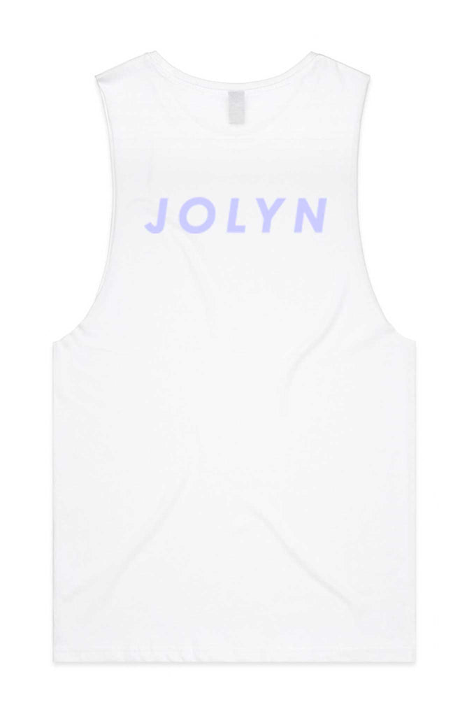 JOLYN Rep Tank - White