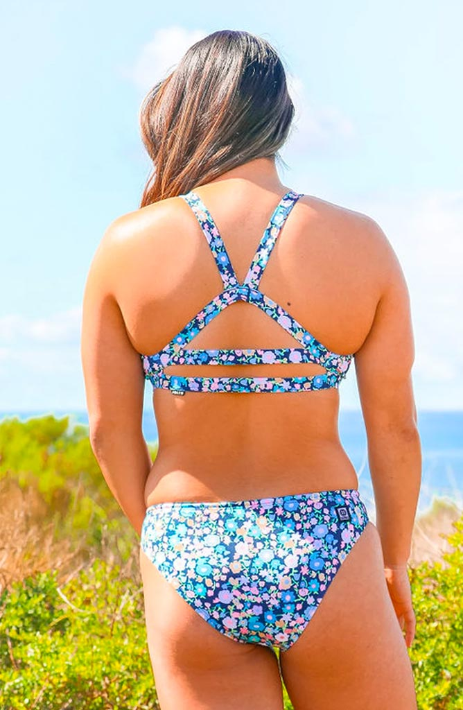 Printed Kaylee Fixed-Back Top - Delight