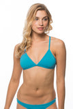 Triangle Top - Teal