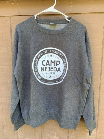 Sweatshirt - Crew Neck - Nejeda Badge (Adult)