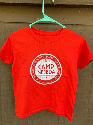 T-shirt - Nejeda Badge (Red/Gray - Youth)