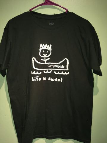 T-shirt - Life is Sweet  (Blue, Pink, Dk Green, Neon Green - Youth)