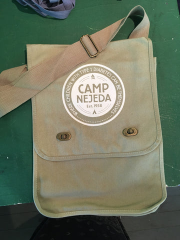 Canvas - Field Bag - Nejeda Badge - Khaki