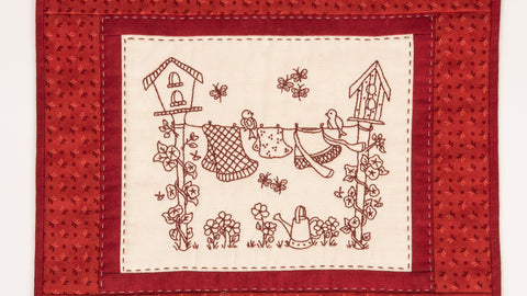 Pattern #033 - Grandma's Back Yard