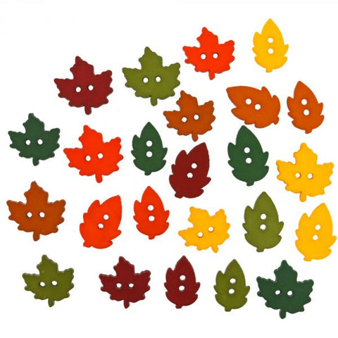 Button #1196 - Raking Leaves