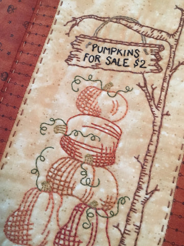Pattern #036 - Pumpkins for Sale
