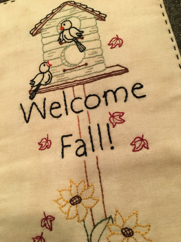 Pattern #087 - Welcome Fall!