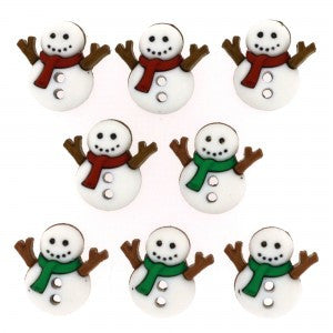 Button #7494 - Sew Cute Snowmen