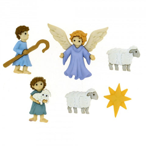 Button #8816 - The Good Shepherd