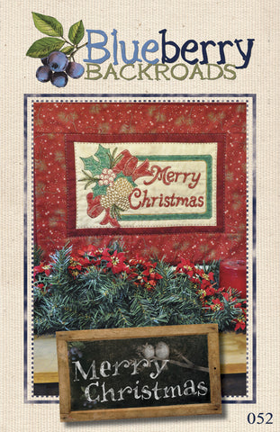 Pattern #052 - Merry Christmas