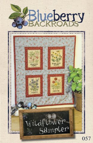 Pattern #057 - Wildflower Sampler