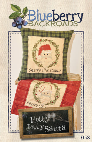 Pattern #058 - Holly Jolly Santa