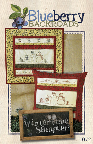 Pattern #072 - Wintertime Sampler