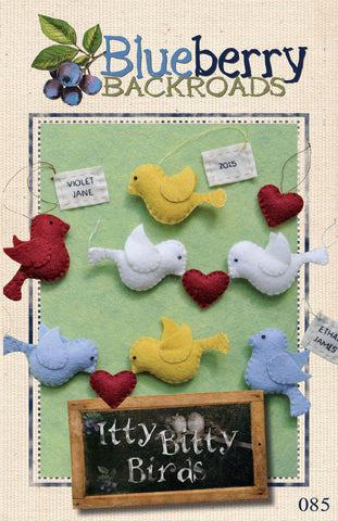 Pattern #085 - Itty Bitty Birds