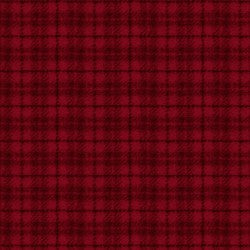Fabric #8502 R - Woolies Flannel - Red Plaid