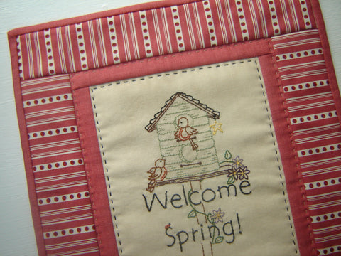 Pattern #082 - Welcome Spring!