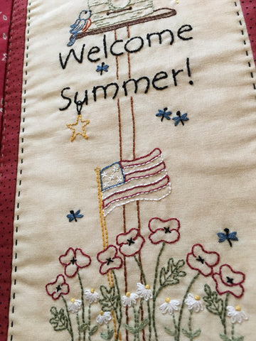Pattern #096 - Welcome Summer!