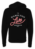 The Hamilton Live Zip-Up Hoodie, Distressed Logo