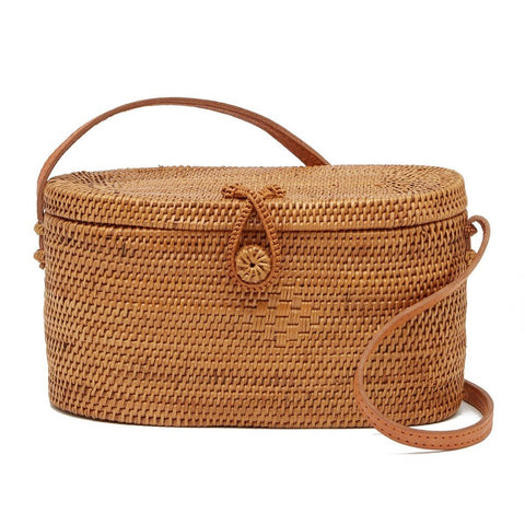 Palms Vacay Oval Crossbody Bag