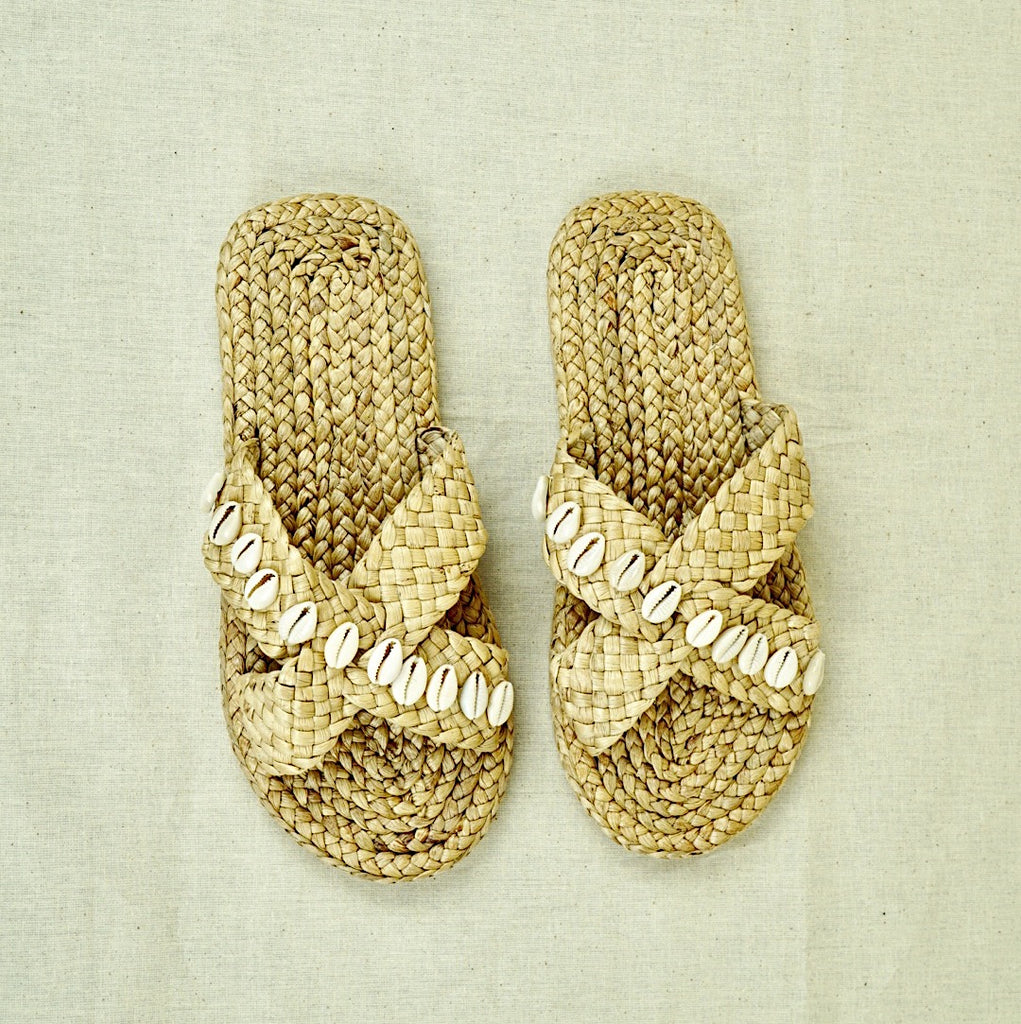 Lilian Sea Shells Slide Sandal