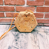Ivory Hexagon Vacay Crossbody Bag