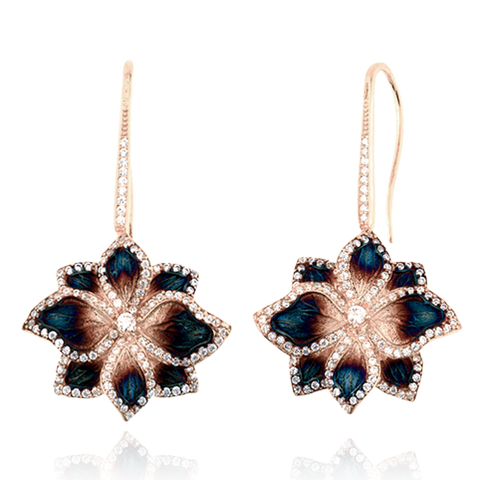 Ember Magnolia Earrings
