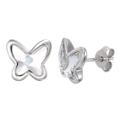 Crystal Glowing Butterfly Earrings