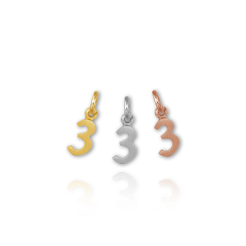 Individual Number Charm