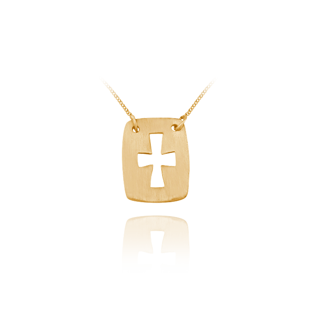 Hanging Cross Pendant