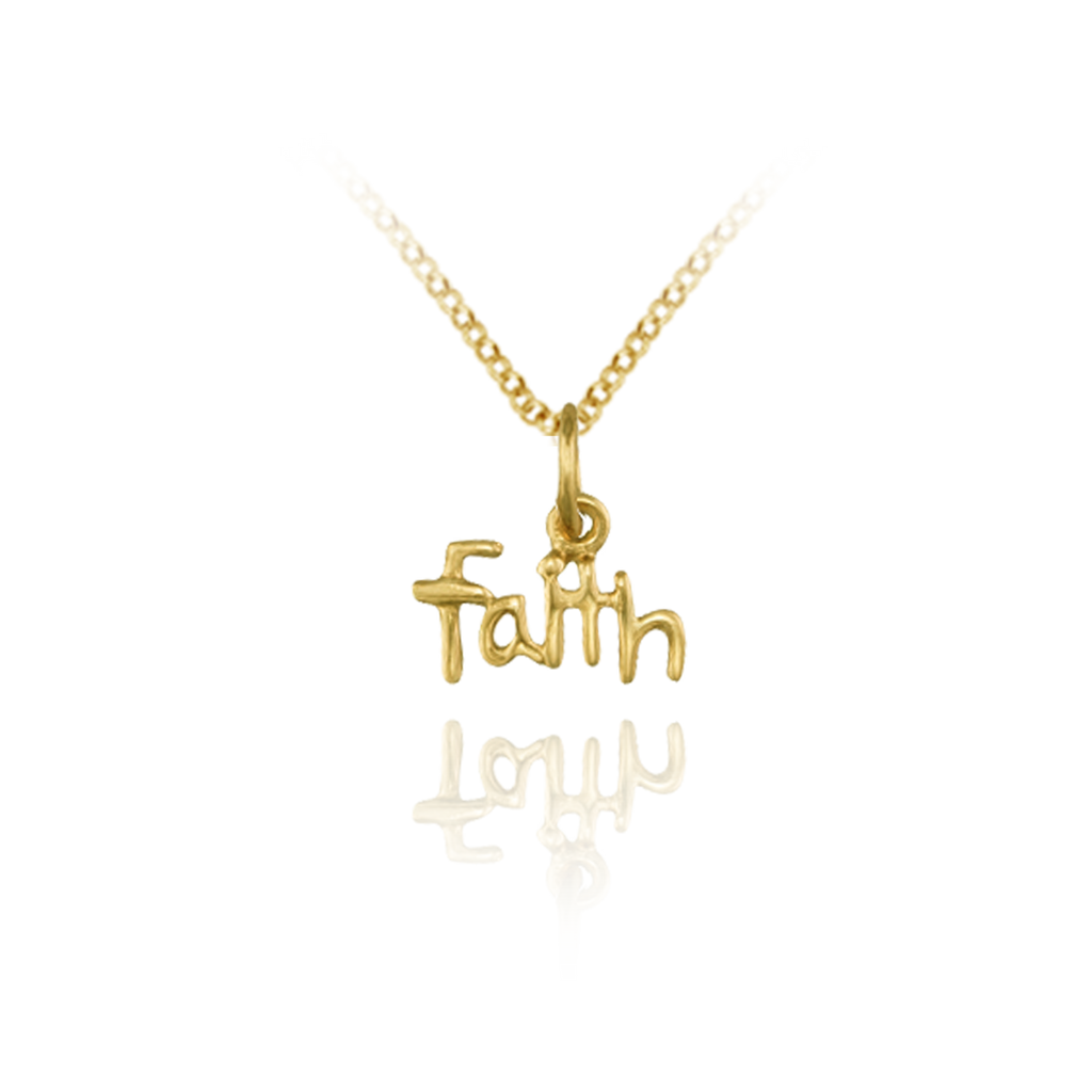 """Faith"" Charm Pendant"
