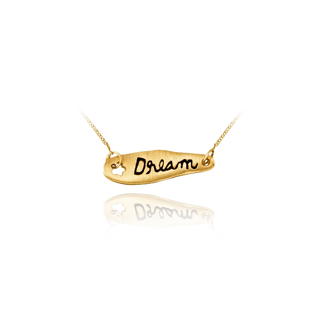 """Dream"" Banner Pendant"