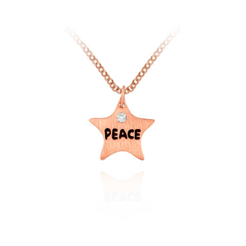 Peace Star Pendant