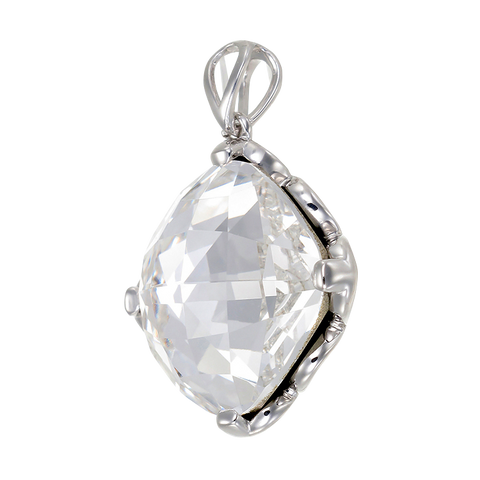 Brilliant White Crystal Pendant