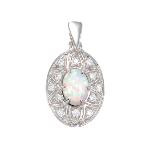 Luxurious Opal Pendant