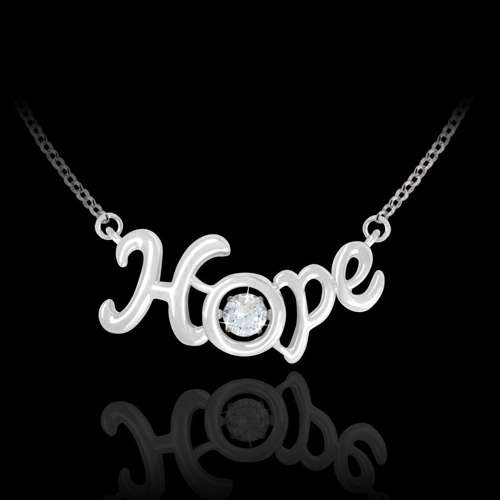 Scripted Hope Pendant