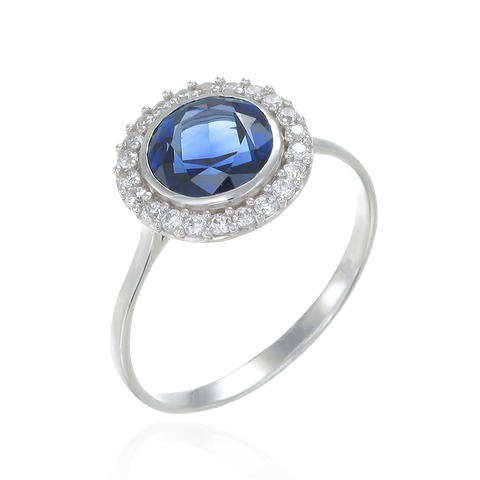 Classic Blue Sapphire Ring