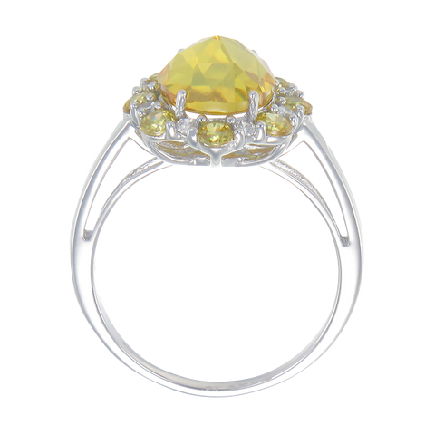Sunburst Yellow Ring
