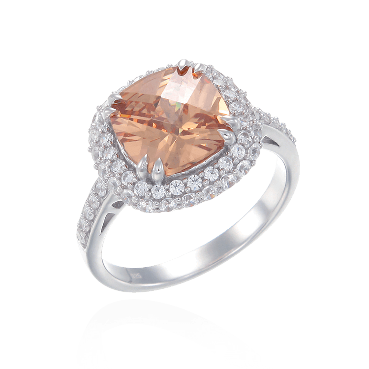 Sumptuous Champagne Ring