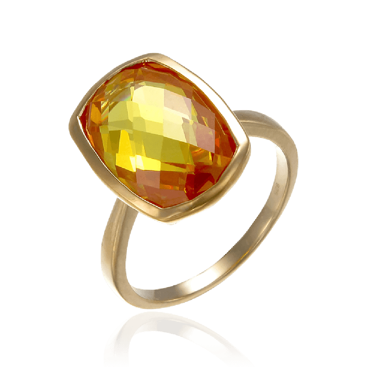 Sparkling Orange Ring