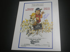 TATUM O'NEAL Signed 11x14 Movie Poster Photo Bad New Bears Autograph RARE