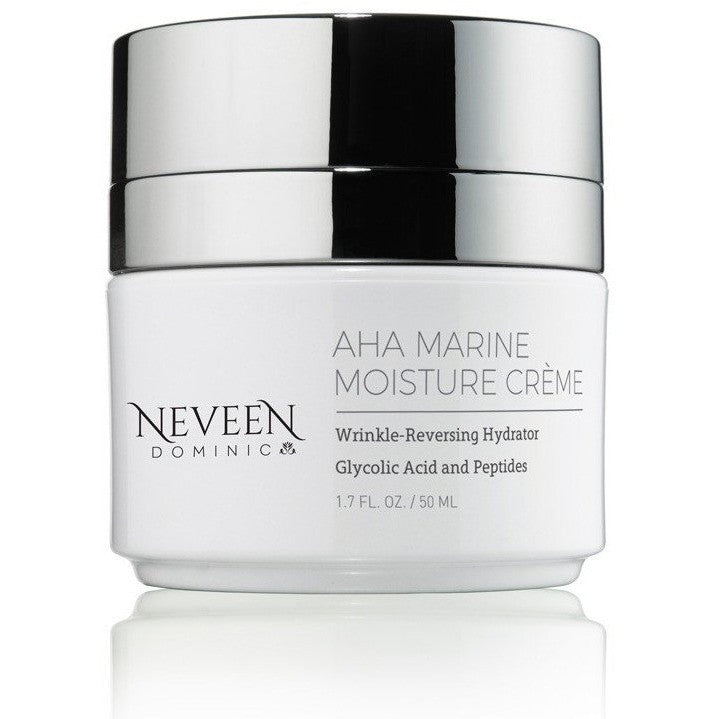 AHA Marine Moisture Creme provides instant rehydration and moisturization