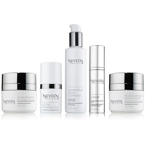 Neveen Dominic Ultra-firming Eye tightens and firms skin around the eyes, reducing puffiness, dark circles and crows feet.