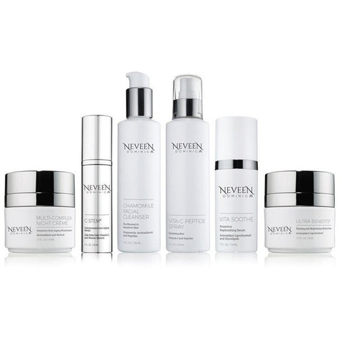 Neveen Dominic Calgary professional skincare for dry and sensitive skin for a youthful, young look