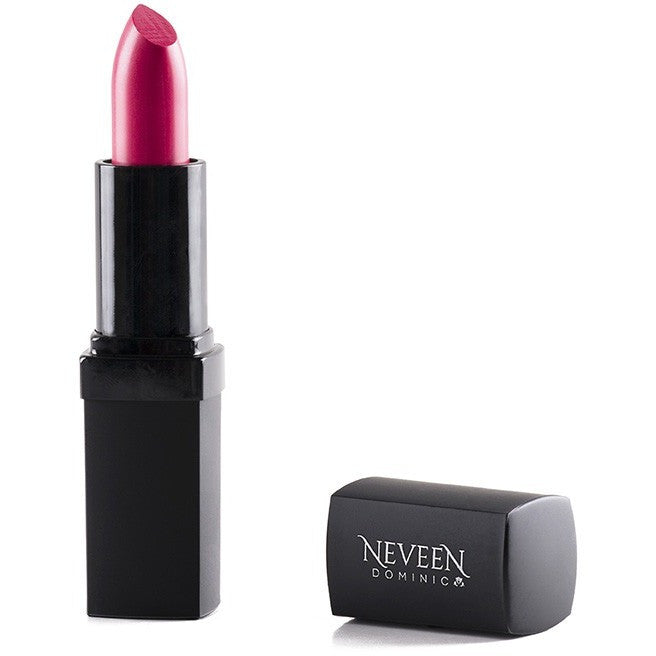 vibrant no-shine matte lipstick packed with antioxidants anti-oxidants and Vitamin E by Neveen Dominic Cosmetics Calgary Alberta