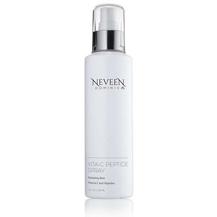 Neveen Dominic Vita-C Peptide Spray aromatherapy hydrating moisturizing hydration elastic elasticity make-up makeup and skincare skin care all-in-one