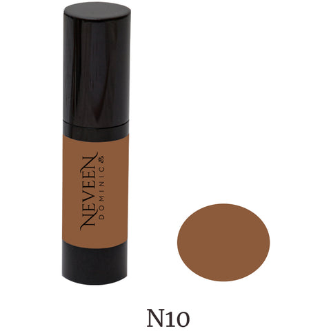 Neveen Dominic cosmetics make-up makeup liquid hi-def high-def foundation for the flawless look you deserve.