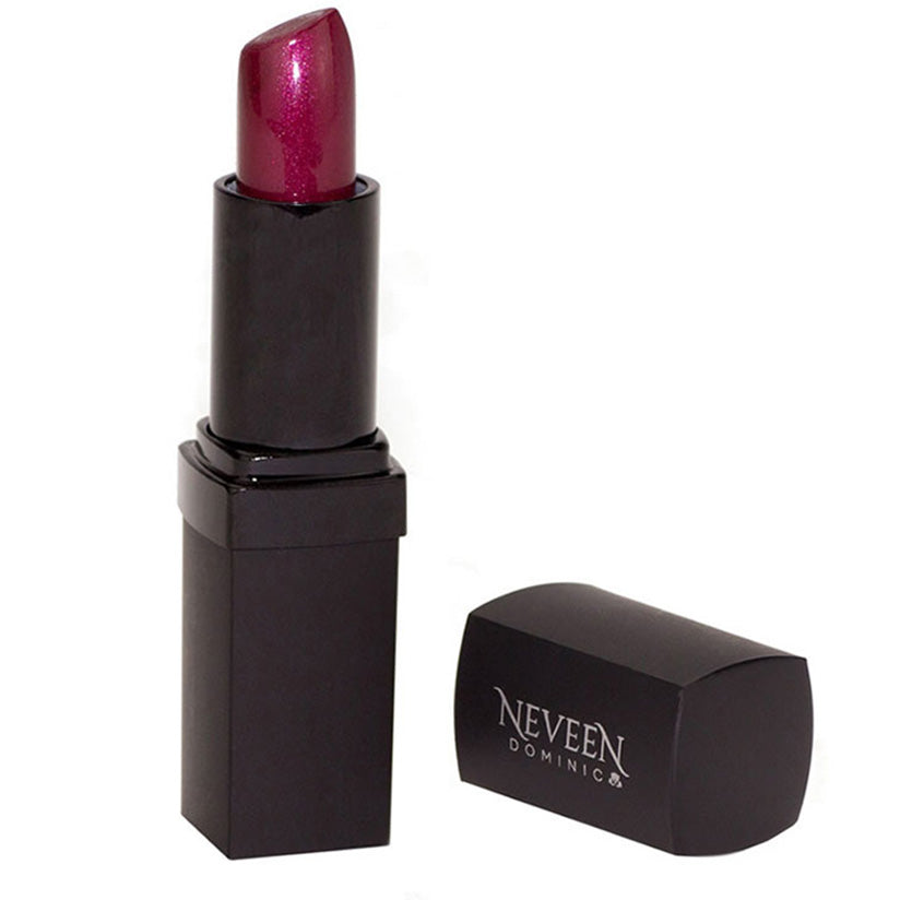 Neveen Dominic lipstick smooth creamy pearlized frosted high-gloss high gloss lightweight light-weight light weight extreme shine sheen flawless vibrant full