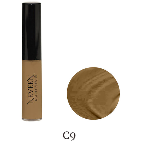 liquid concealer dark dark-skin skin tone dark-tone melanin brighter flawless cosmetics cream foundation concealer highlighter to add glow, shimmer, contour and a sun-kissed look