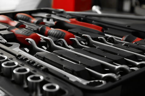 screwdriver and socket wrench tool set